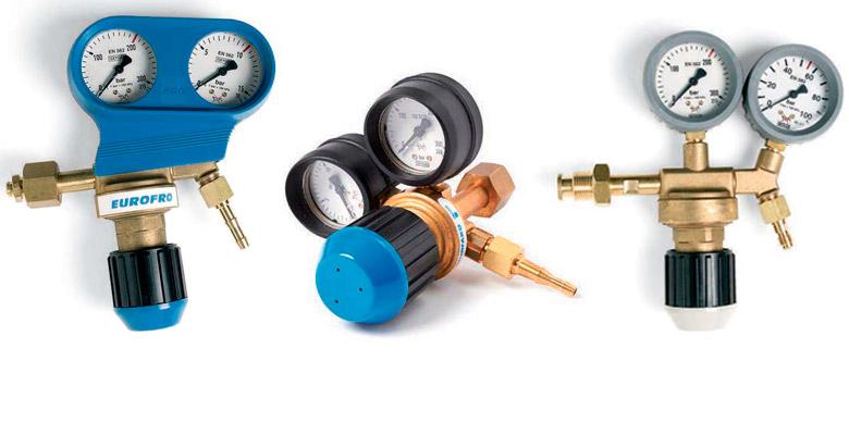 SAF-FRO Riduttori di pressione per bombole